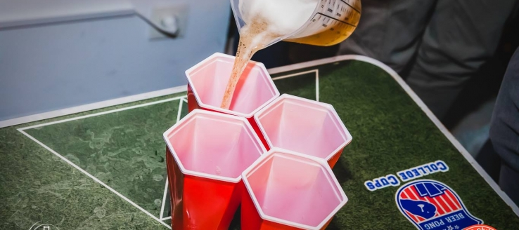 Beerpong Tournament at San Francisco Club