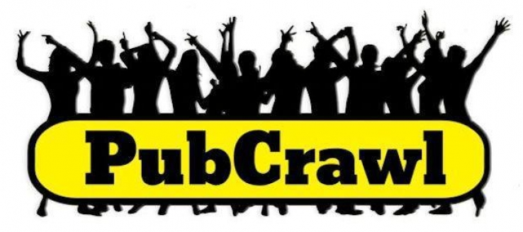 Pub Crawl Every Saturday